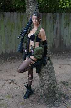 A Sniper Deprived Of Her Words