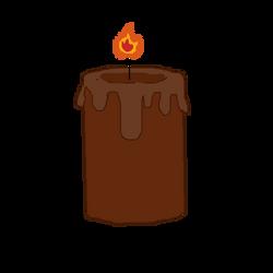 Cinnamon candle by purplelion12