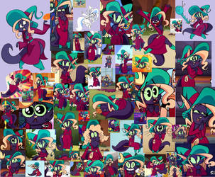 Bimm Mighty Magiswords collage by purplelion12