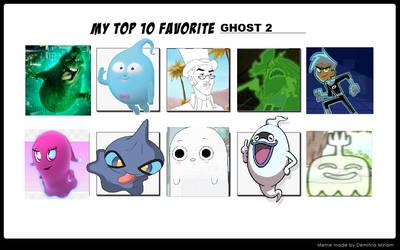 Top 10 Favorite Ghost 2