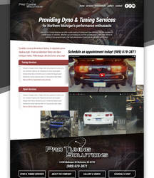 Pro tuning website concept by jansin