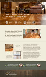 Practical Renovations website concept by jansin