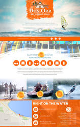 Surf and Ski shop website concept by jansin
