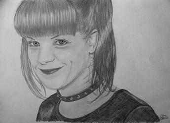 Drawing Abby Sciuto NCIS