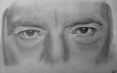 Drawing Alan Rickman Eyes