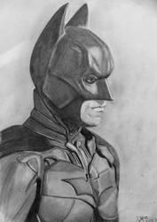 Drawing Batman Christian Bale Dark Knight