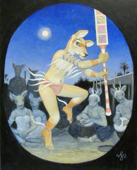 Lunar Dance 2016 10 x 8