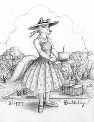 Birthday Picnic by Andibi