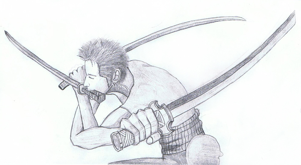 Roronoa Zoro from One Piece by DamSoneK