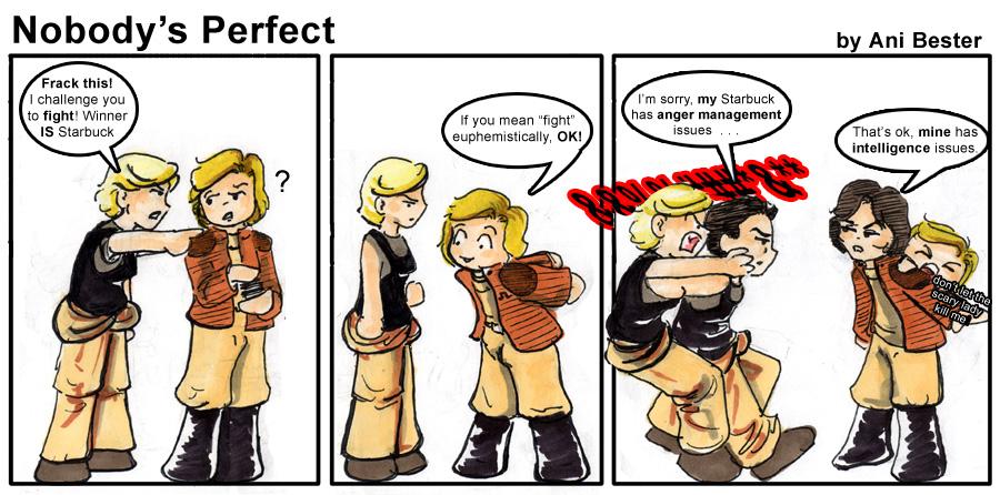 BSG Comic 1: Nobody's Perfect