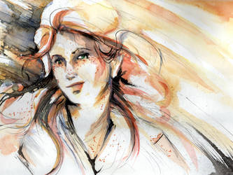 Autumn's Girl by GalacticDustBunnies