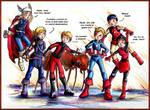 Avengers Mascot