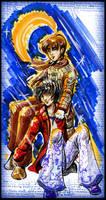 Wild -Sirius and Remus by GalacticDustBunnies