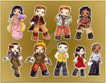 Firefly Character Stickers