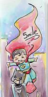 Bookmark: Smile Batman
