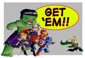 Get Em by GalacticDustBunnies