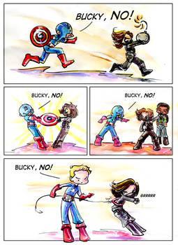 Bucky NO!