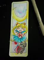 Sailor Moon Bookmark by GalacticDustBunnies