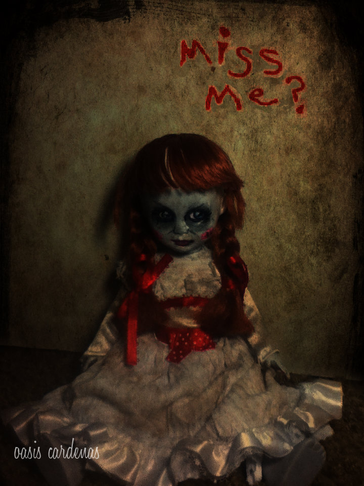 the conjuring annabelle doll by oasiscardenas