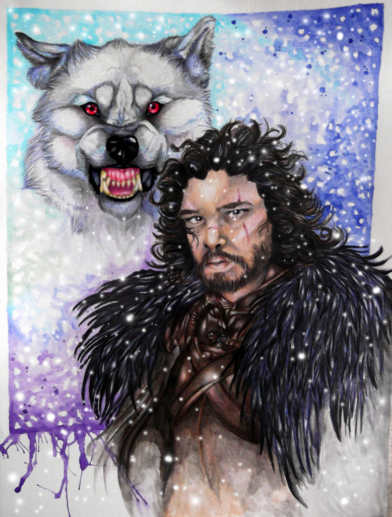 Jon Snow by Alikra