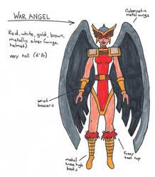 War Angel ref sheet