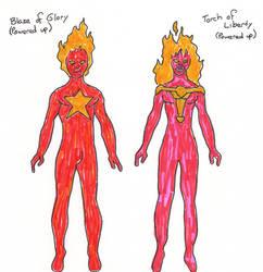 Blaze - Torch powered up ref