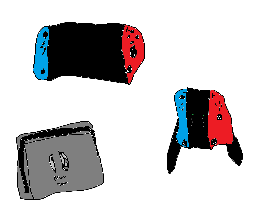 nintendo switch art by Supergames699