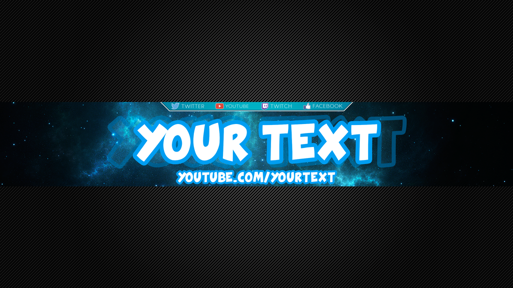 Youtube Banner by dralex47 on DeviantArt