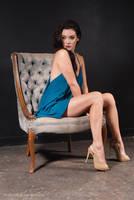 Devil in a Blue Dress by Frankiedabat