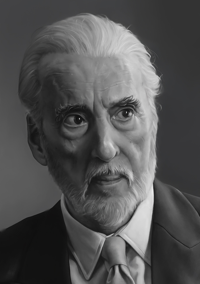 Christopher Lee by CraigPaton