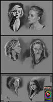 Superheroine Portraits