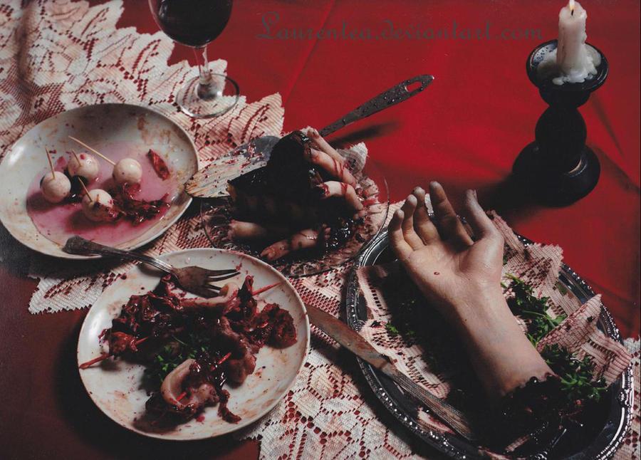 Dinner is served by Laurentea