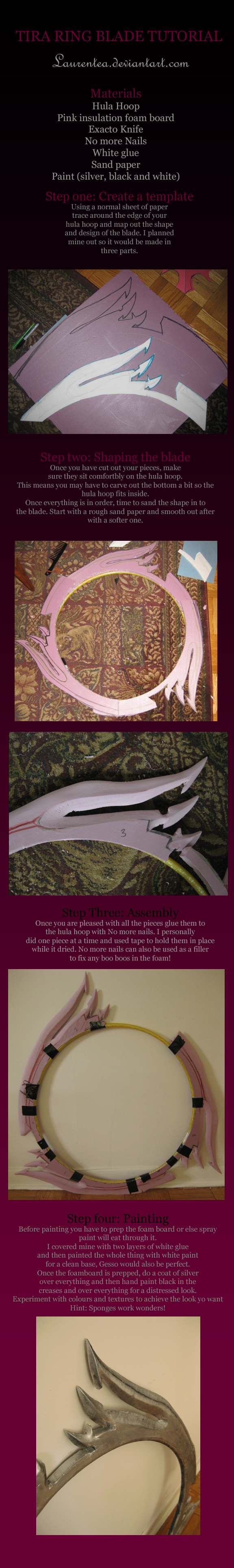 Tira soul caliber tutorial: Ring blade by Laurentea