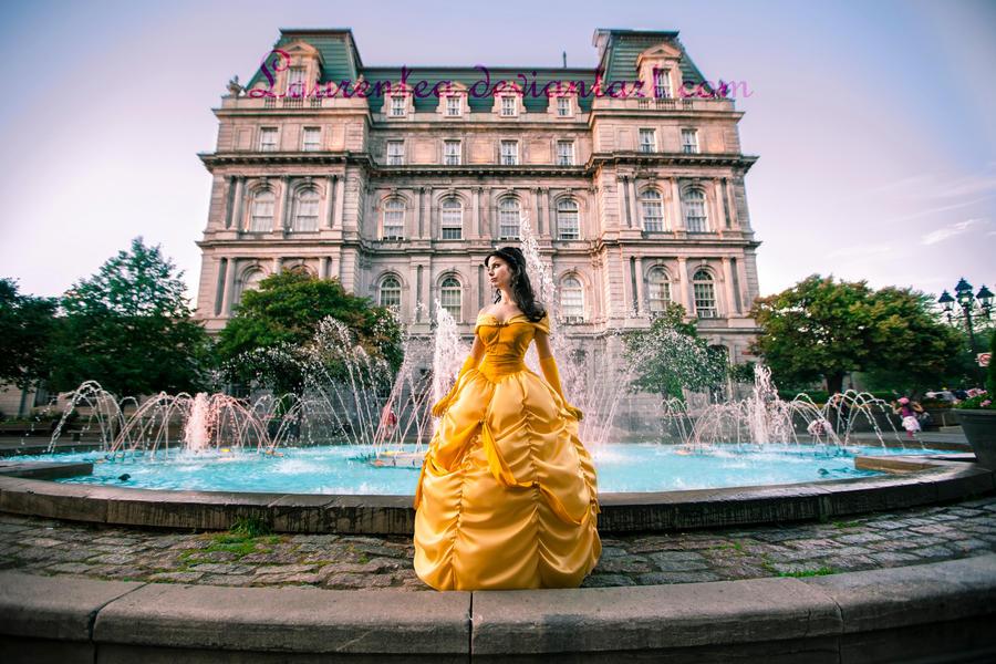 Belle: I want adventure... by Laurentea