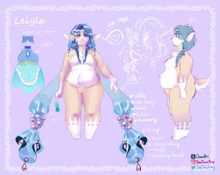 Leiyla reference by SeaFoamFoxy