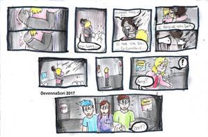 He's Here... Part 23 by DevennaSori