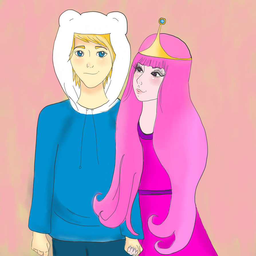 finn and princess bubblegum by IUSHE on DeviantArt