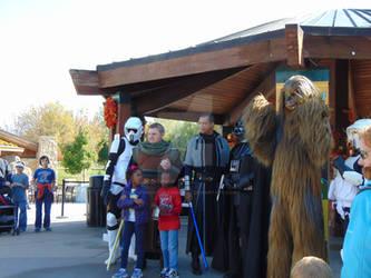 We have a Wookie
