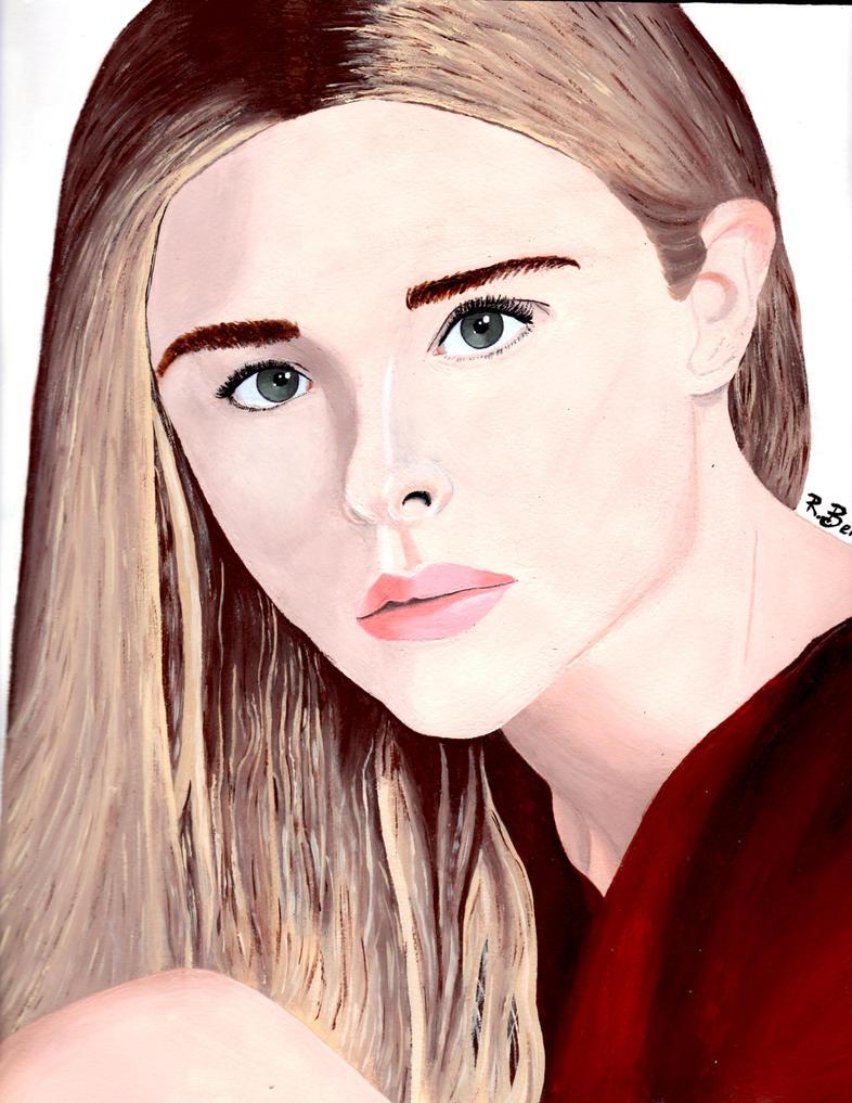 Chloe Grace Moretz Portrait by MermaidGirlForever