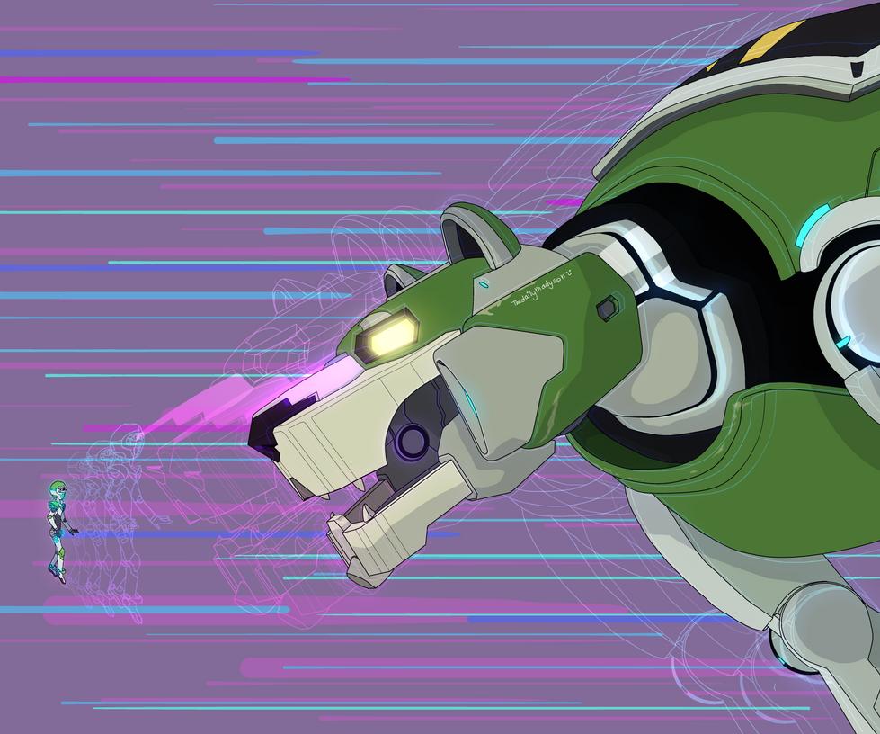 Green Lion Voltron Voltron - Pidge and Gr...