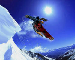 Krhainos snowboarding by TillWolfster