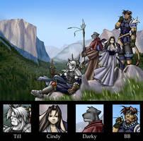 Fuzzy MMORPG STYLE XD by TillWolfster