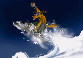 Flying Krhainos by TillWolfster