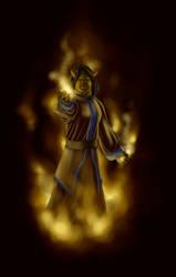 Krhainos - fire mage by TillWolfster
