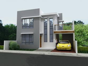 3D House 2 by TillWolfster