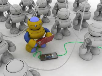 robots again part 1 by TillWolfster
