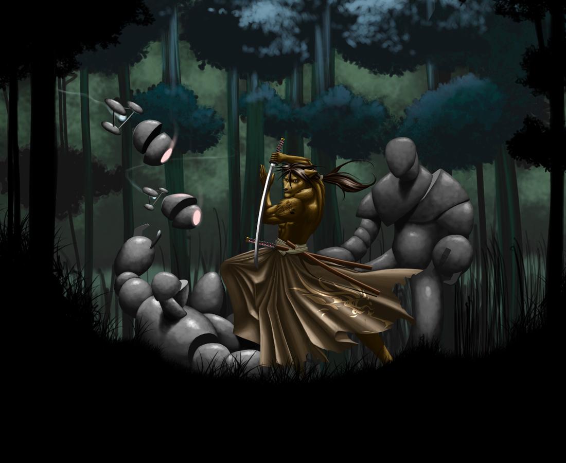 Krhainos: Samurai Showdown by TillWolfster