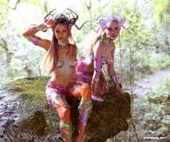 Rainbow Seekers by KarismaCGArt