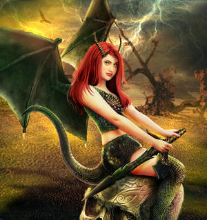 Hell Belles: The Dragoness by Nesmaty