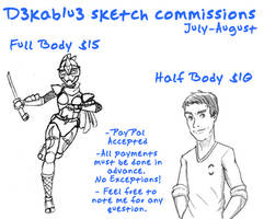 Sketchcomms July - August